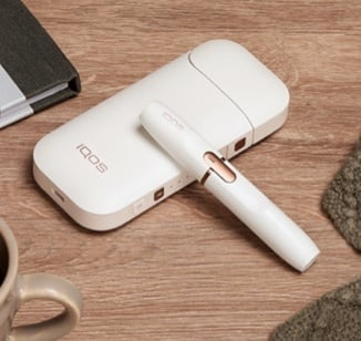 A while IQOS 2.4 PLUS device.