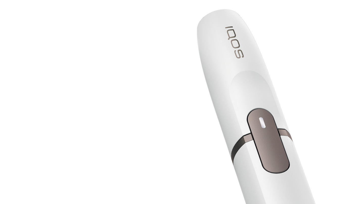 IQOS 2.4 Plus holder with charge light on