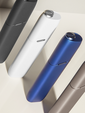 IQOS 3 Multi range standing next to each other