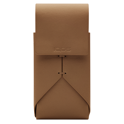 IQOS Leather Pouch, Caramel, large