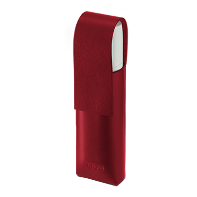 Skórzane etui IQOS 3 MULTI, Deep Red, large