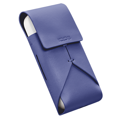 IQOS Leather Pouch, Periwinkle, large