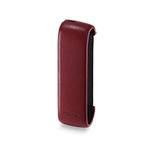 IQOS 3 Leather Sleeve, Deep Red, medium