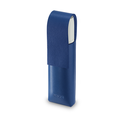 Skórzane etui IQOS 3 MULTI, Royal Blue, large