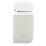 Skórzany klips IQOS, Cream, medium