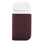 IQOS Leather Clip, Burgundy, medium