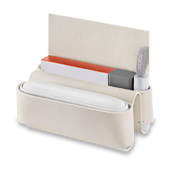 IQOS 3 Leather Folio, Cream, medium