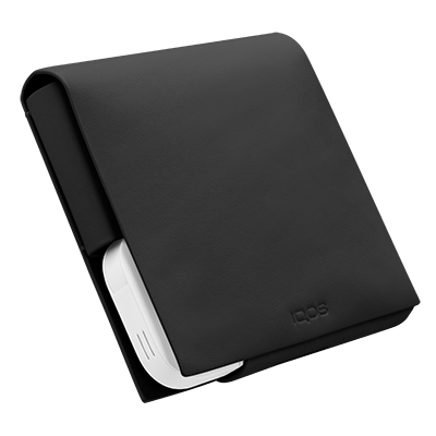 IQOS Leather Folio S, Black, large