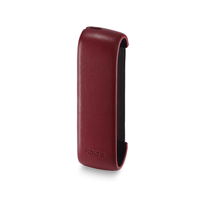 IQOS 3 Leather Sleeve, Deep Red, large
