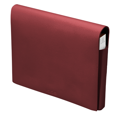 IQOS Leather Folio M, Red, large