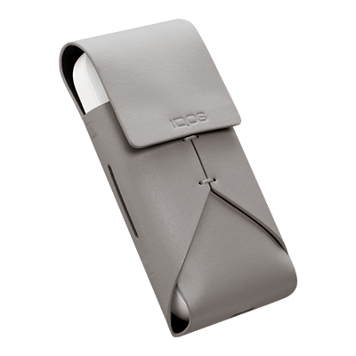 IQOS Leather Pouch, Grey, large