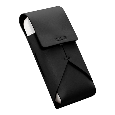 IQOS Leather Pouch, Black, large
