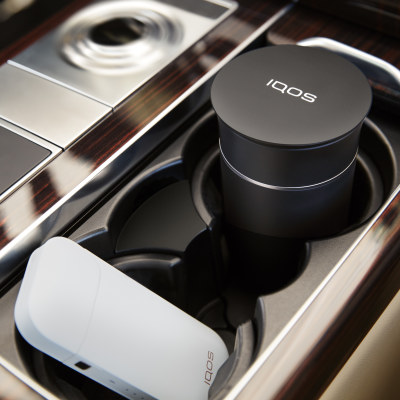 IQOS CAR TRAY BLACK, Black, large