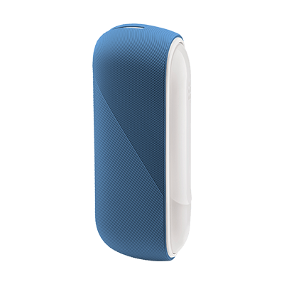 IQOS 3 DUO Silicone Sleeve, Icy Blue, large