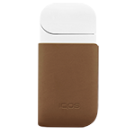 Skórzany klips IQOS, Brown, medium
