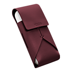 IQOS Leather Pouch, Burgundy, medium