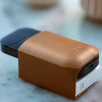 IQOS Leather Clip, Brown, large