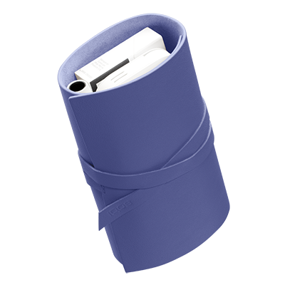 IQOS Leather Roll, Periwinkle, large