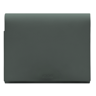 IQOS Leather Folio M, Green, large